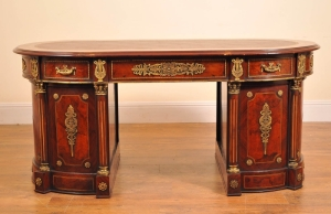 FRANCESE NOCE EMPIRE OVAL PARTNER DESK SPORTELLI