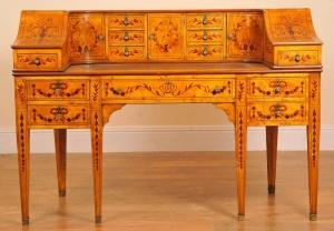 Bureaux Regency bureau anglais Carlton House table d'écriture