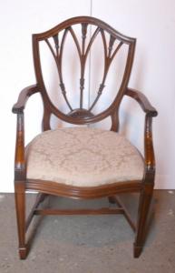 SET10 HEPPLEWHIT英英文红木餐厅椅椅