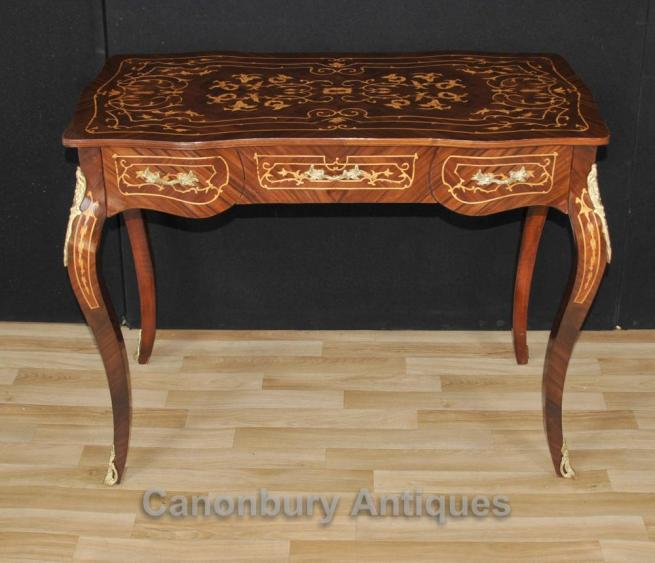 French Empire Desk Writing Table Bureau Plat Du Dame