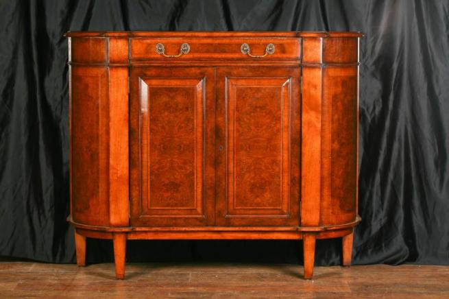 Regency Walnut Sideboard Buffet Server Credenza