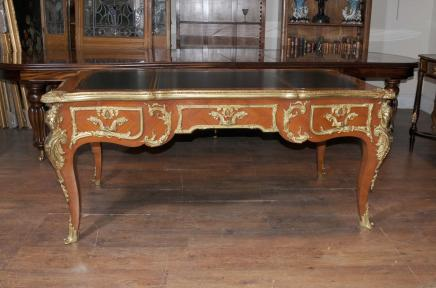 Antique French Empire Partners Desk