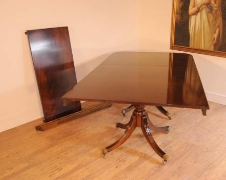 Regency Pedestal Dining Table