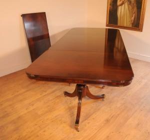 Regency Pedestal Dining Table (3)