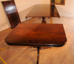 Regency Pedestal Dining Table (5)