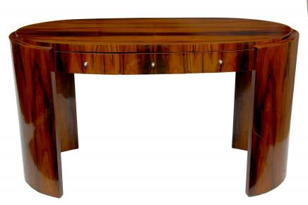 Art Deco Desk Rosewood Writing Table