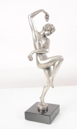 Art Deco Bronze Bacchus Figurine Bachannalian Statue