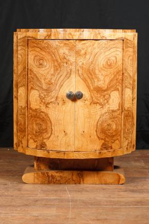 Art Deco Cabinet Crinkle Chest Cupboard Furniture