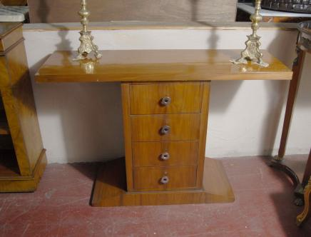 Art Deco Console Table Chest Drawers