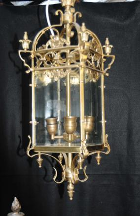 French Brass Lantern Light Chandelier Lamps Lights