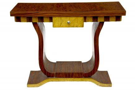 Funky Art Deco Inlay Hall Table Console Tables Dressing Furniture