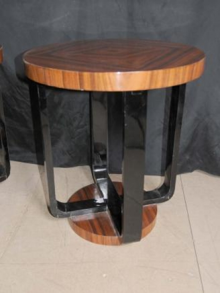 Side Table Art Deco Modernist Vintage single