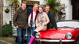 Celebrity Antiques Road Trip Comes To Canonbury