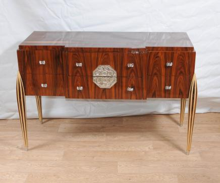 Art Deco Chest Drawers Sideboard Buffet Server Dining Furniture
