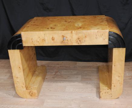 Art Deco Walnut Desk Writing Table Bureau 1920s Furniture