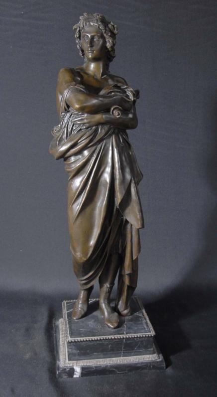 Bronze Casting Of Apollo Figurine Bronzes Classical