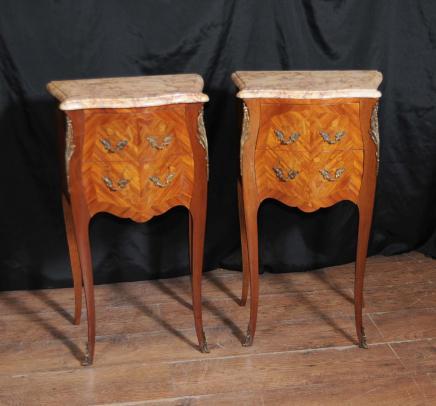 Antico francese Comodini Credenze Tavolini 1930 Mobili