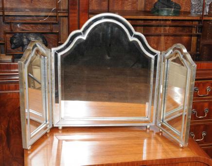 Art Deco tocador Espejos De Vidrio Espejo