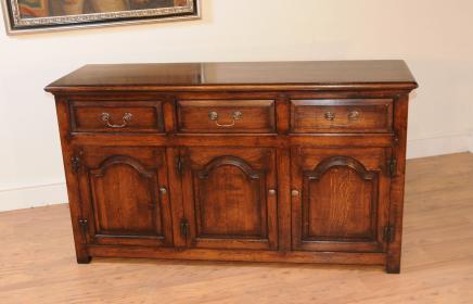 Oak Base georgiano Dresser servidor Buffet Sideboard Muebles granja