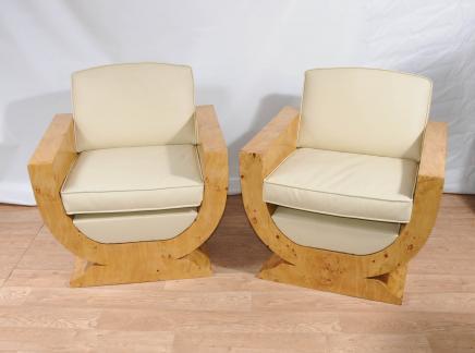 Art Deco Clubsessel Sessel Sessel Möbel
