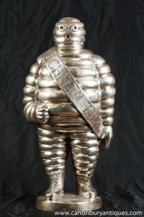 Französisch Bronze Michelin Man Statue Bibendum Michellin Figurine