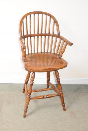 Oak Windsor Bar Stool Chair Windsor Stühle Farmhouse