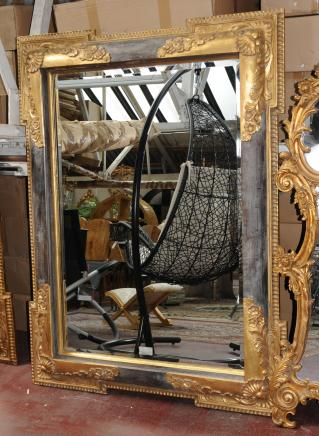 XL Victorian Gilt Pier Mirror Architectural Mirrors Glass