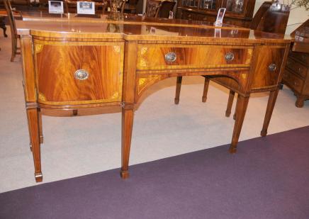 Regency Mahogany сервант стол обеденный Сервер инкрустация мебели