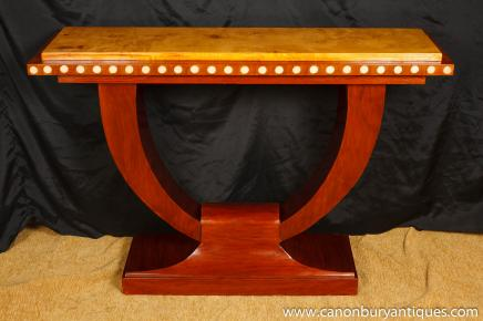 1920s Art Deco U Console Table Hall Tables Interiors Furniture