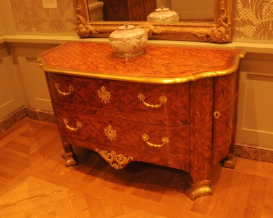 Antique Baroque French Commode at The Getty