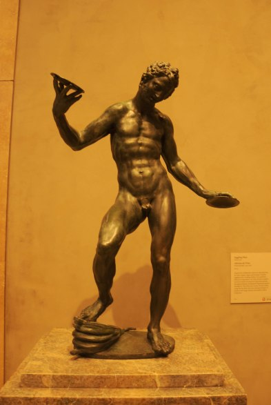 Antique Bronze Statue Juggling Man by Adriaen De Vries at The Getty