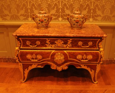 Antique Commode Attributed to Andre-Charles Boulle at The Getty