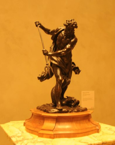 Antique Jupiter Bronze Statue by Jean Raon at The Getty