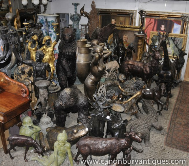 Canonbury Antiques Launch Bronze Zoo
