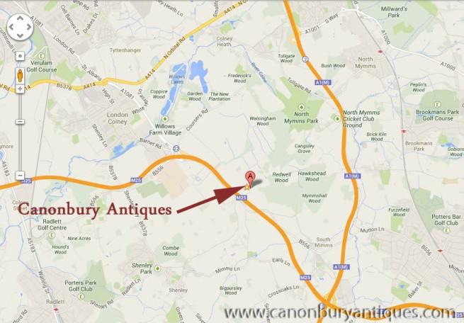 Canonbury Antiques GPS Co-Ordinates