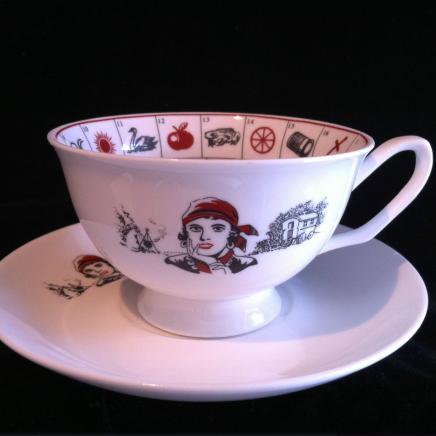 Fortune Teller's Astrology Tea Cup & Saucer