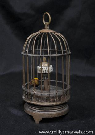 Mechanical Chinese BirdCage Clock