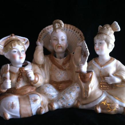 Porcelain Nodding Heads