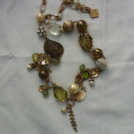 Vintage Long Bead Necklace