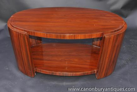 Art Deco Coffee Table Rosewood Tables 1920s Furniture