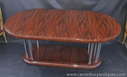Art Deco Rosewood Dining Table Diner Furniture