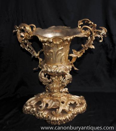 French Louis XV Rococo Ormolu Tureen Dish Bowl