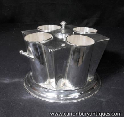 Victorian Sheffield Silver Plate Wine Champagne Cooler