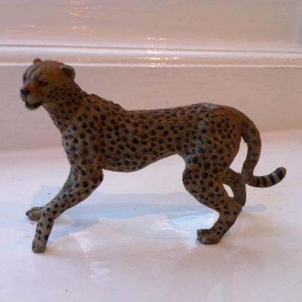 Austrian Cold Painted Wild Cheetah Bronze