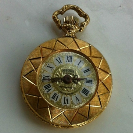 Vintage Swiss Made 'Hudson' Pendant Watch