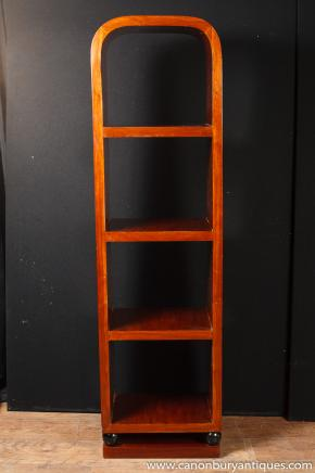 Art Deco Bookcase Shelf Unit Rosewood