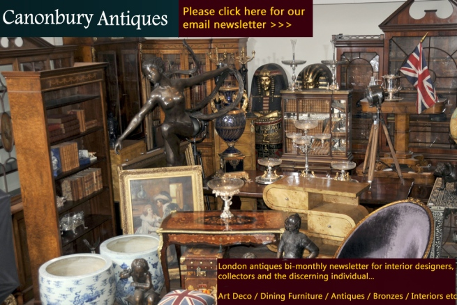 Canonbury Antiques email newsletter