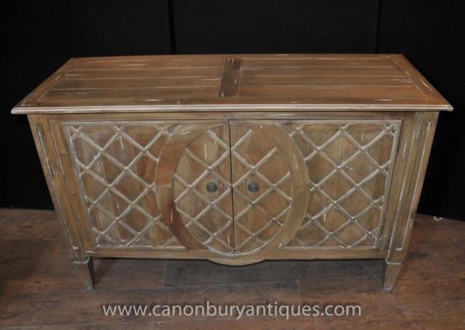 Art Deco Commode Sideboard Server Chest Drawers Buffet
