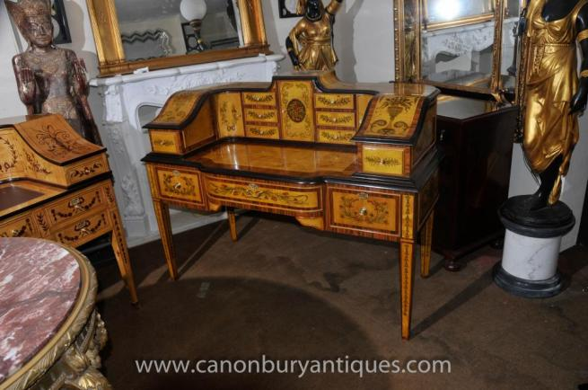 Regency Carlton House Desk Writing Table Burea Plat