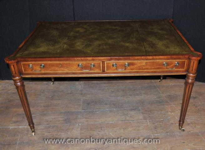 Regency Gillows Writing Table Desk Mahogany Bureau Office